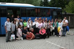 Ankunft der Besucher aus Polgardi