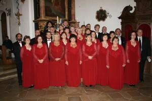 Der Clara-Voce-Chor aus Polgardi in der Klosterkirche Grafrath