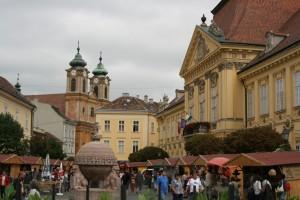 Die Kreisstadt Szekesfehervar